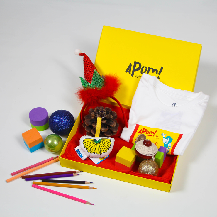 APOM Gift Box - Small,  - APOM, A Piece of Malaysia Souvenirs Statement T-Shirts Mugs Accessories