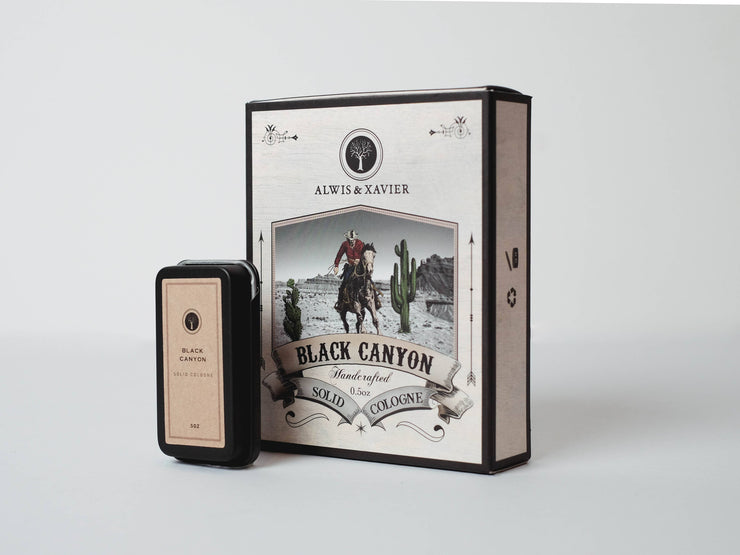 Alwis & Xavier - Black Canyon Cologne