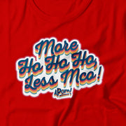 Adult-T-shirt-More Ho Ho Ho, Less MCO