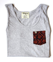 Inkaa - Tank Top Grey