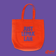 Tote Bag - Just Lepak Lah