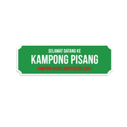 Stickers - Kampung Pisang (set of 5)