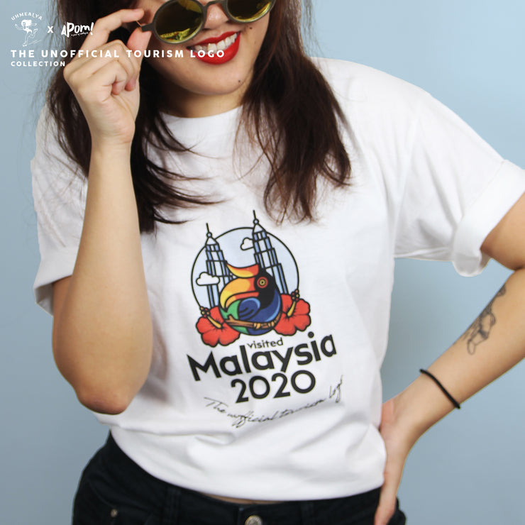Adult - T-Shirt - Visited Malaysia 2020 - White