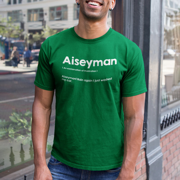 Model wearing An Aiseyman Malaysian Slang Tee