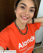As seen on instagram. In this Orange T-Shirt, Apom explains the meaning of the local slang 'Alamak' as well as gives an example of it's meaning.