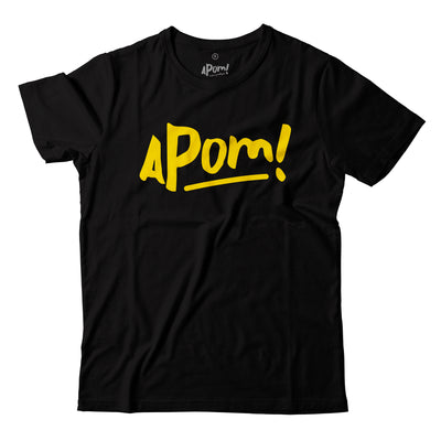 Adult - T-Shirt - Apom Yellow Logo