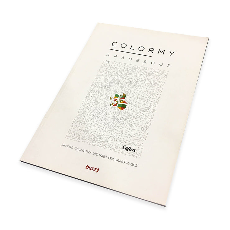 ColorMy - Arabesque Colouring Book