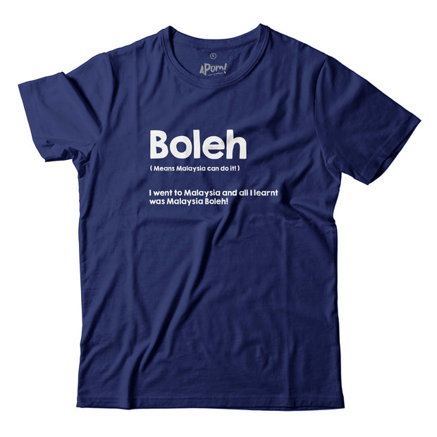 LIMITED EDITION Adult - T-Shirt - Boleh - Navy Blue