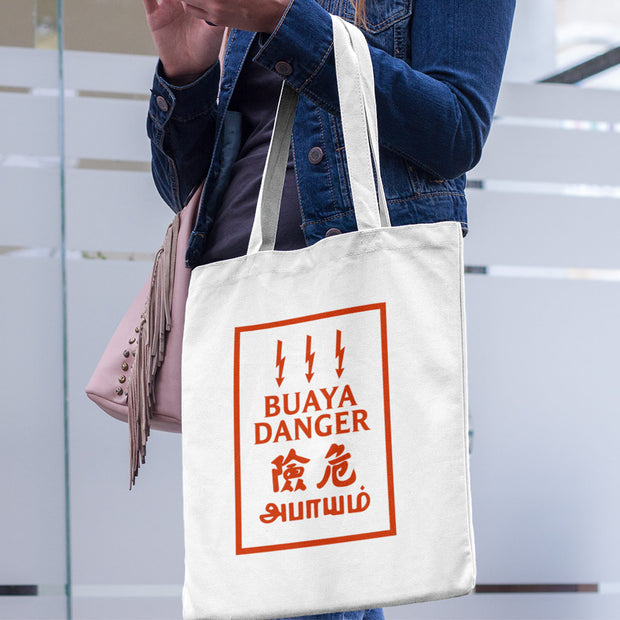 Tote Bag - Buaya Danger