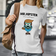 Adult - T-Shirt - Mr Hipster - White