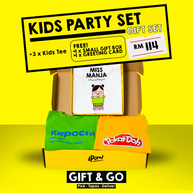 Gift Set - Kids Party set
