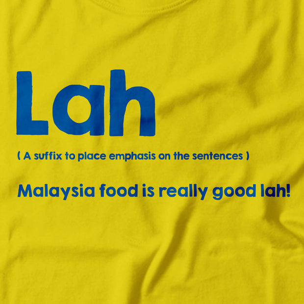 LIMITED EDITION Adult - T-Shirt - Lah - Yellow