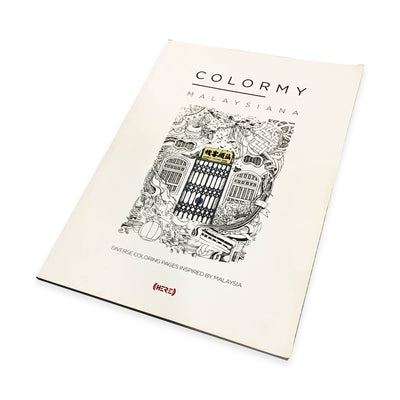 ColorMy - Malaysiana Colouring Book