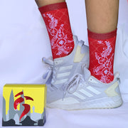 Hornbill Time & Wear - Rafflesia Socks