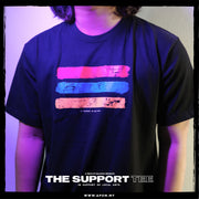 Adult - T-shirt - The Support Tee (Black)