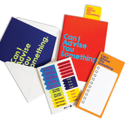 APOM Premio Collab - Can I Advise You Something - Stationery Set