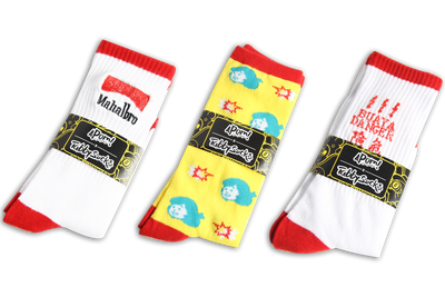 APOM Socks Bundle,  - APOM, A Piece of Malaysia Souvenirs Statement T-Shirts Mugs Accessories