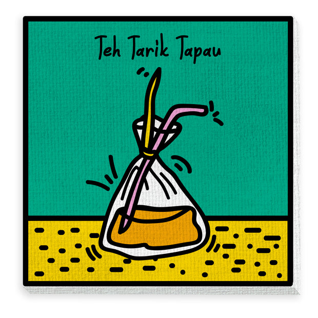 Canvas- Teh Tarik Tapau Pop Culture