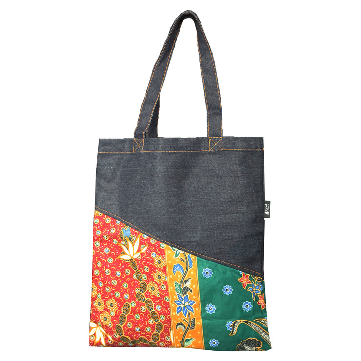 Totebag - Denim Batik