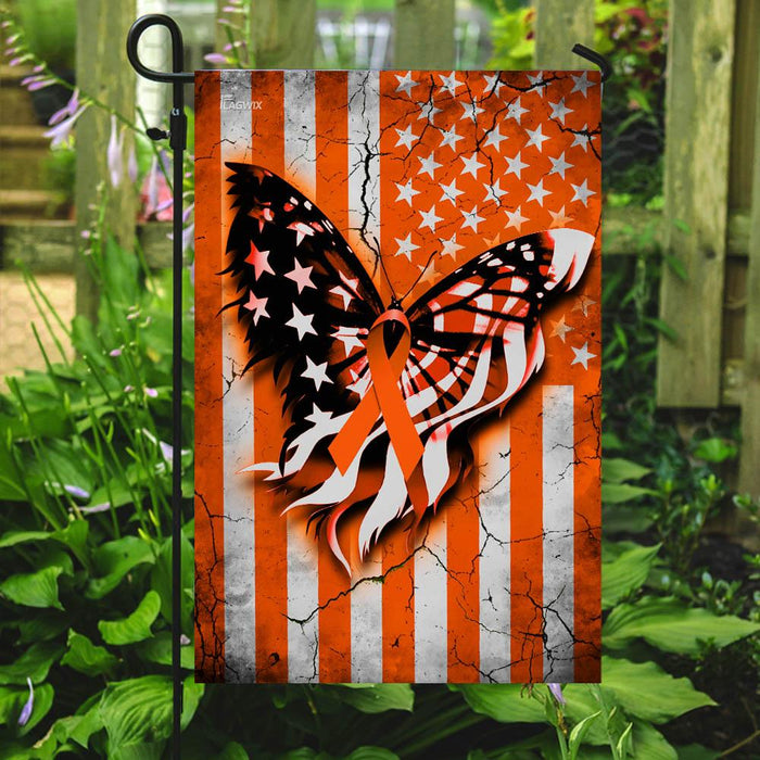 Multiple Sclerosis Awareness Flag | Garden Flag | Double Sided House Flag