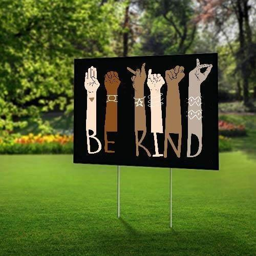 Black Lives Matter Yard Sign (24 x 18 inches)