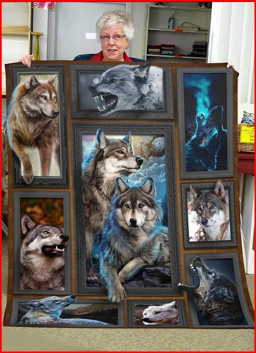 3D Wolf Blanket - Gift For Wolf Lover | Christmas Gift