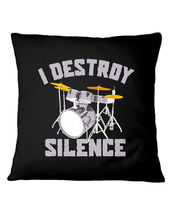 I Destroy Silence Pillowcase