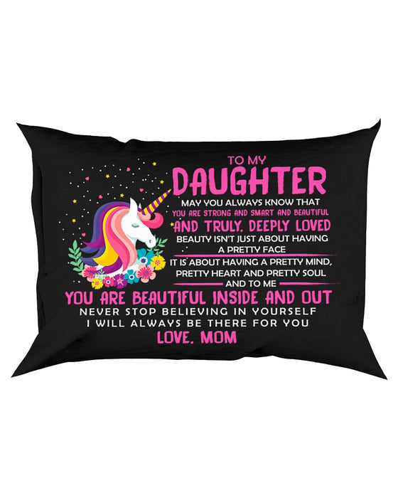 I Will Always Be There For You Unicorn Pillowcase