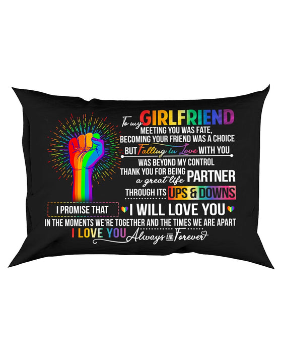 LGBT Girlfriend Ups And Downs Love Pillowcase