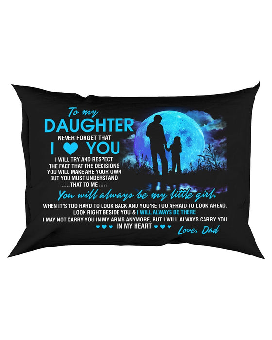 I Will Always Carry You In My Heart Family Pillowcase
