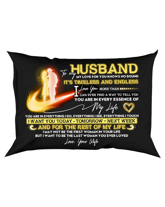 Firefighter Husband Timeless And Endless Pillowcase