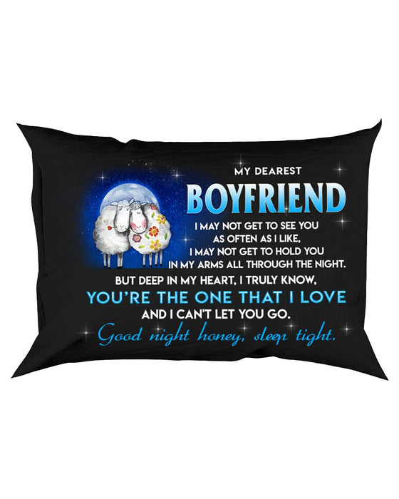 Sheep Boyfriend Sleep Tight Pillowcase