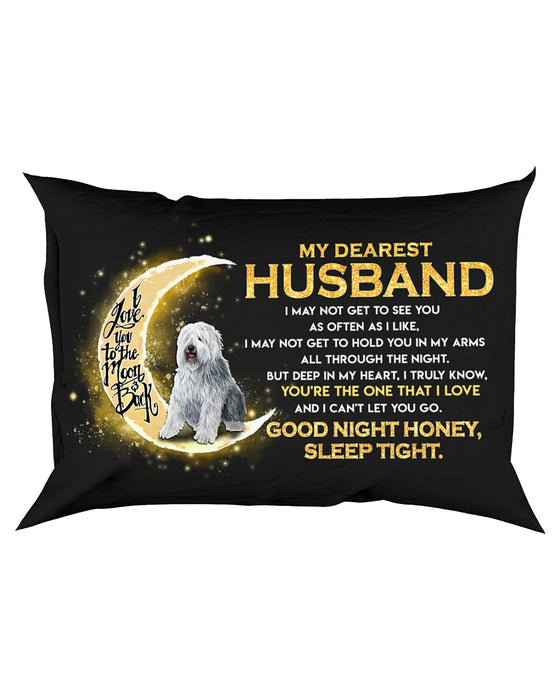 Sheepdog Husband Sleep Tight Pillowcase
