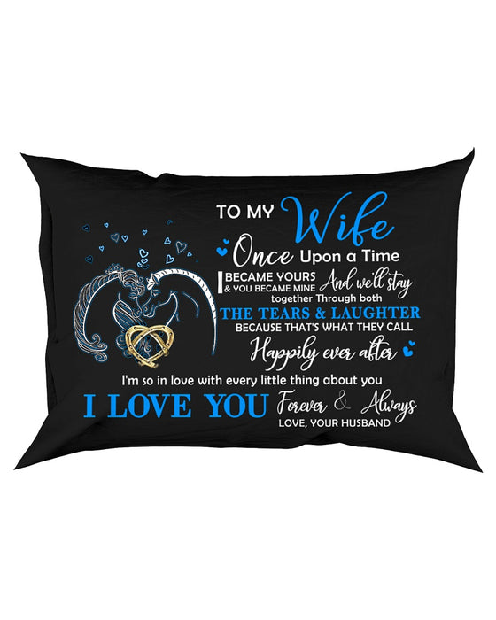 You Became Mine Horse Pillowcase