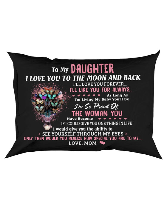 I'll Love You Forever Butterfly Pillowcase