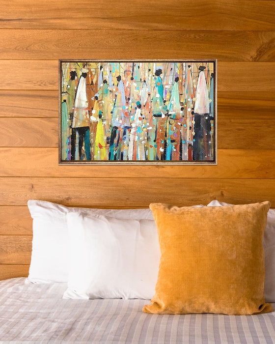 African - Black Art - Black People Print Art Horizontal Canvas And Poster | Wall Decor Visual Art
