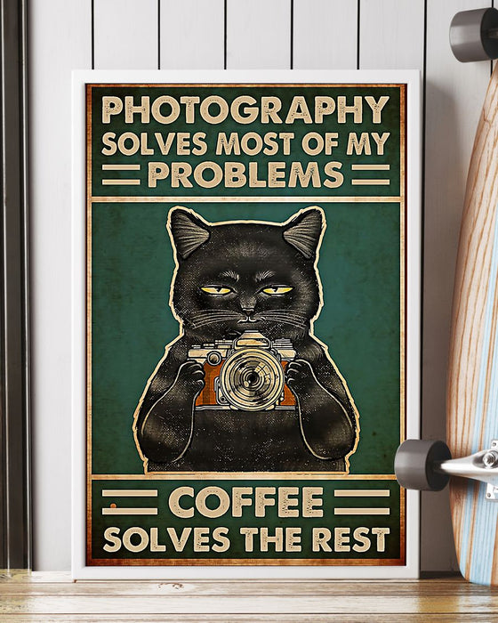 Photographer Solves Problems Vertical Canvas And Poster | Wall Decor Visual Art