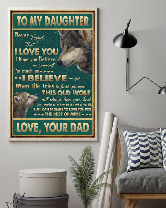 Never Forget That I Love You Vertical Canvas And Poster | Wall Decor Visual Art