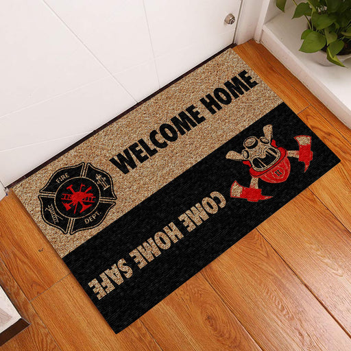 Home Firefighter Doormat | Welcome Mat | House Warming Gift