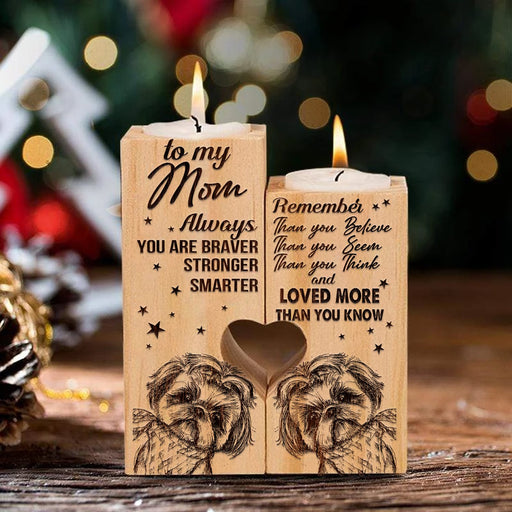 To My Mom Gift For Shih Tzu Mom Gift For Dog Mom Candle Holder Dog Lover DOg Dad  1611305492605.jpg