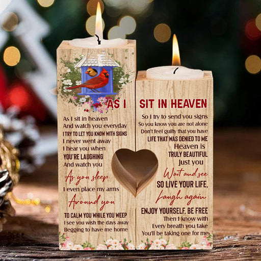 Love In Heaven Cardinal. As I Sit In Heaven Candle Holder Valentine Gift For Couple, Anniversary Gift For Couple  1611892583126.jpg