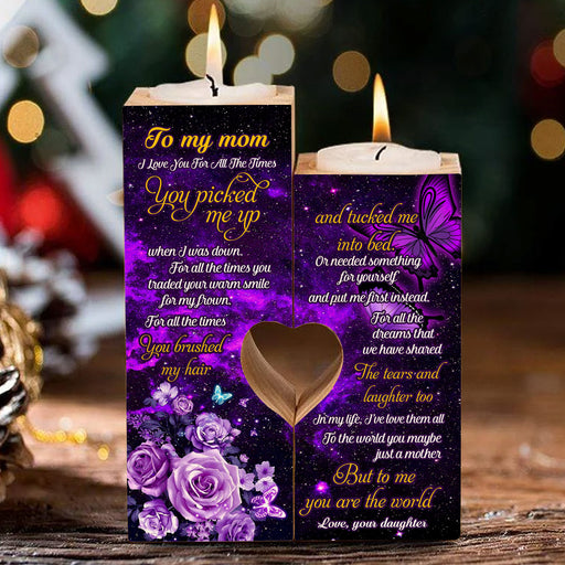 To My Mom To Me You Are The World Heart Candle Holder Birthday Gift For Mom From Daughter 1611892584450.jpg