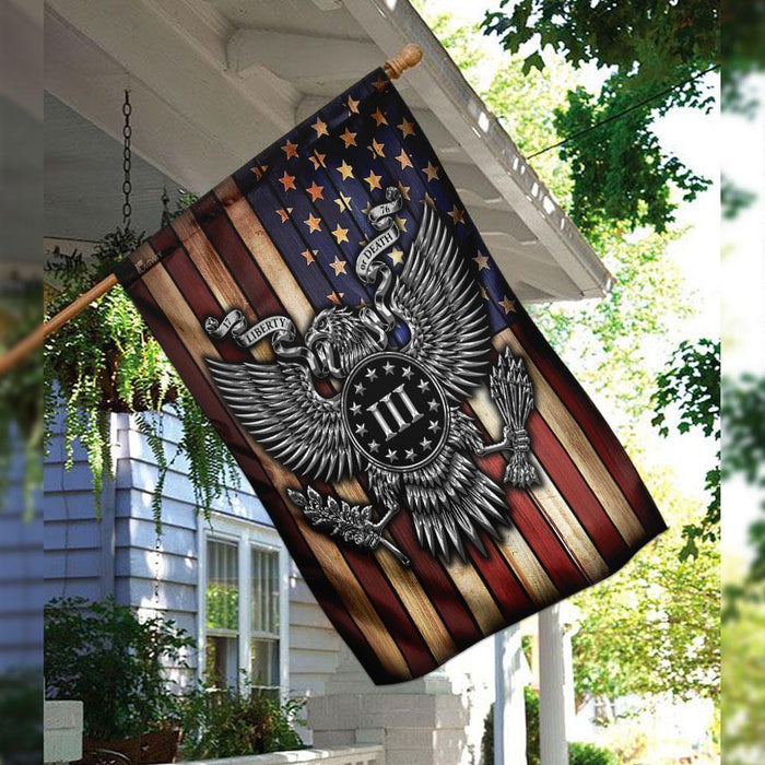 American Patriot 1776 Flag | Garden Flag | Double Sided House Flag - GIFTCUSTOM