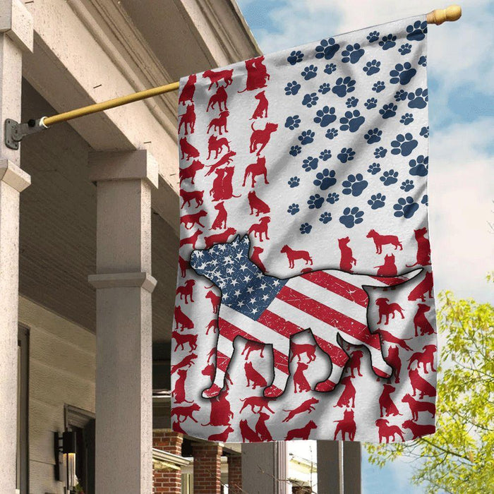 American Staffordshire Terrier Flag American Staffordshire Terrier - GIFTCUSTOM