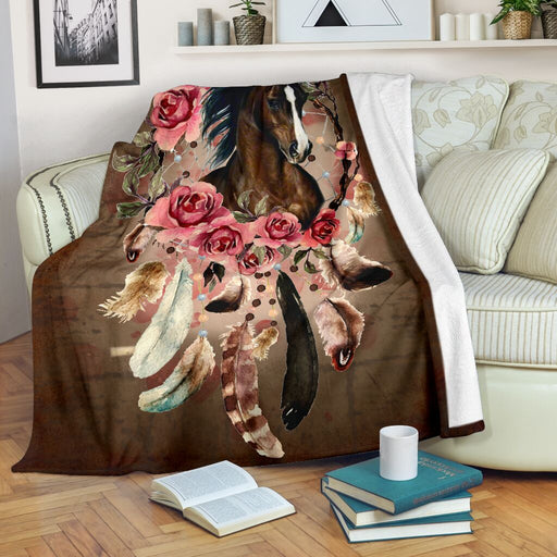 Flower With Horse Blanket - GIFTCUSTOM