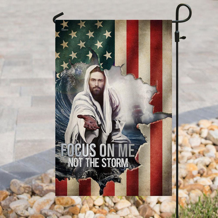 Focus On Me, Not The Storm Flag - GIFTCUSTOM