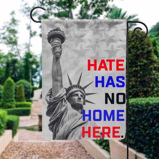 Hate Has No Home Here FLag | All Over Printed - GIFTCUSTOM