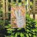 Hippie Garden Flag Hate Has No Home Here - GIFTCUSTOM