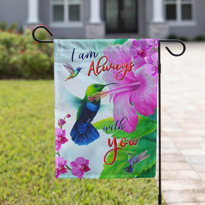 I Am Always With You Flag | Garden Flag | Double Sided House Flag - GIFTCUSTOM