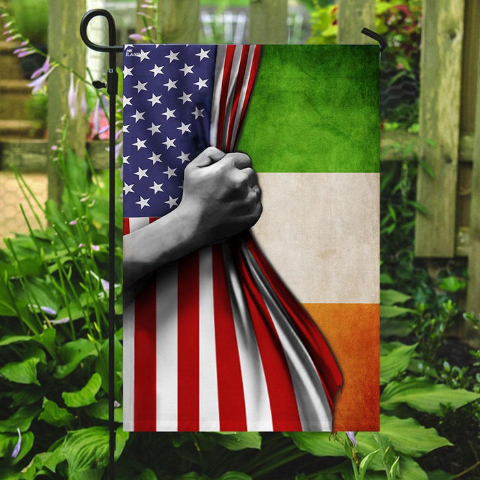 Irish Flag | Garden Flag | Double Sided House Flag - GIFTCUSTOM